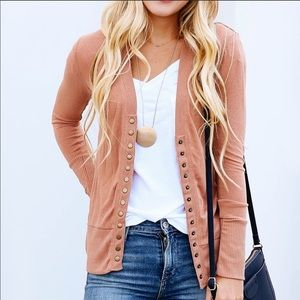 Jackets & Blazers - Best selling snap cardigan newest autumn color